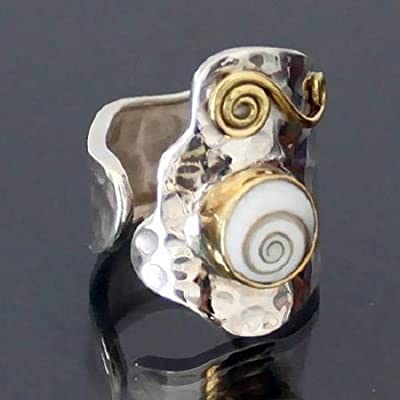 Bague en argent - bague tribale - bague ethnique - anneau indien - bague de déclaration - bague bohème - bague unisexe - bijoux en argent - bijoux tribaux - bijoux ethniques