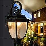 YanLana Retro E27 Wandlampe Einstellbar Modern Led Wandleuchte Für Schlafzimmer Wohnzimmer Treppenhaus Flur Schlafzimmer, Küche, Restaurant, Cafévier Eck Villa (26 * 45Cm)