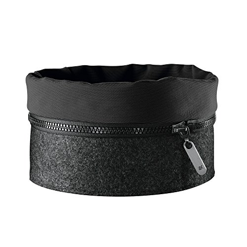 WMF Filzkorb Zipp schwarz 22,5cm Filz