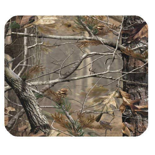 Camouflage Camo Tree Rectangle Non-Slip Rubber Mousepad 7.08X8.66 inches/18X22 cm Gaming Mouse Pad