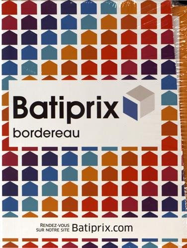 Batiprix bordereau : 9 volumes