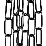Lighting Pendant, Mirror or Picture Suspension Chain in Powdered Black Finish priced per 50cm