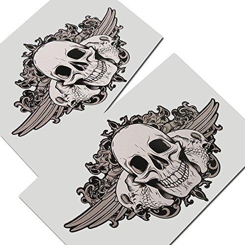 tete-de-mort-autocollants-graphiques-decalques-2-pieces-style-001