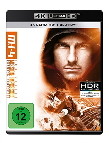 Mission: Impossible - 4 - Phantom Protokoll 4K UHD [Blu-ray]