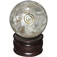 Crocon Selenit Energetische Kugel Ball Cho KU Rei Symbol Energie Generator für Reiki Healing Chakra Balancing... preisvergleich bei billige-tabletten.eu