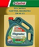Ersatzteile Auto Motoröl Original CASTROL MAGNATEC C3 5W-40 LT. 4 (4 Liter)