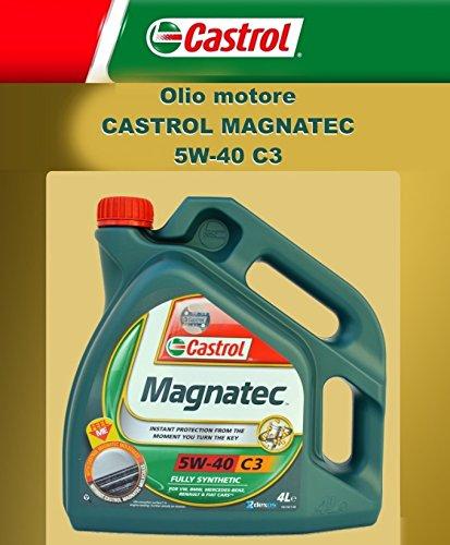 ricambi auto smc Olio Motore Originale CASTROL MAGNATEC C3 5W-40 LT. 4 (4 Litri)