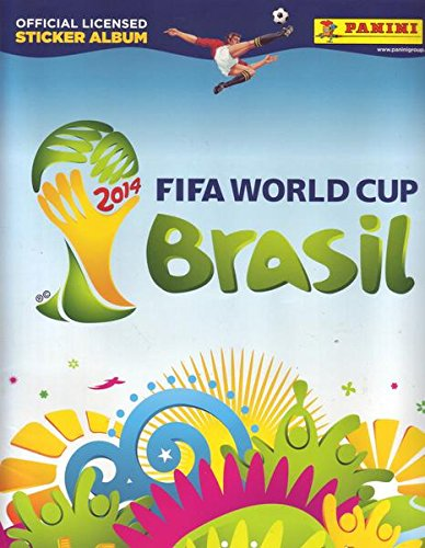 PANINI 2014 FIFA WORLD CUP Brasil + 6 Sammelbilder OFFICIAL LICENSED STICKER ALBUM (Panini World Sticker 2014 Cup)