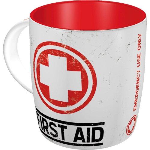 Nostalgic-Art 43008 Nostalgic Pharmacy - First Aid - Classic, Tasse