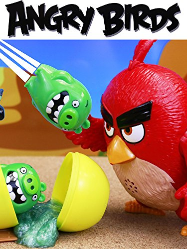 Angry Birds Surprise Egg Slime with Multiplying Bad