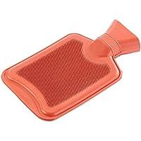 PEARL Bettflasche: Wärmflasche, Größe M, rot, 1 Liter (Wärm-Flaschen Retro Classic, weich) preisvergleich bei billige-tabletten.eu