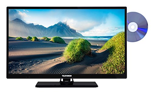 Telefunken XH24D101D 61 cm (24 Zoll) Fernseher (HD Ready, Triple Tuner, DVD-Player) (Receiver Dvd-player)