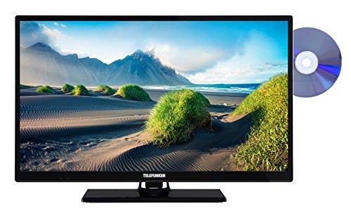 fernseher mit integriertem dvd Telefunken XH24D101D 61 cm (24 Zoll) Fernseher (HD Ready, Triple Tuner, DVD-Player)