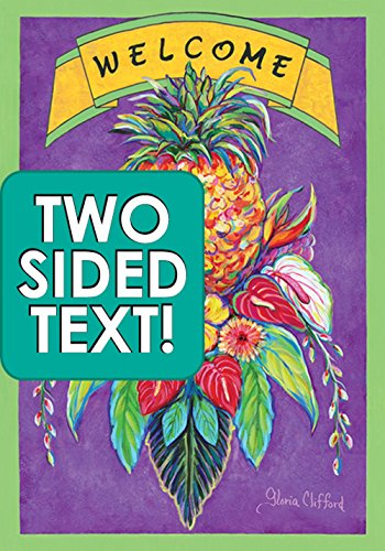 Toland Home Garden Aloha Pineapple Garden