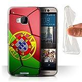 Stuff4 Gel TPU Hülle / Case für HTC One M9+/Plus /