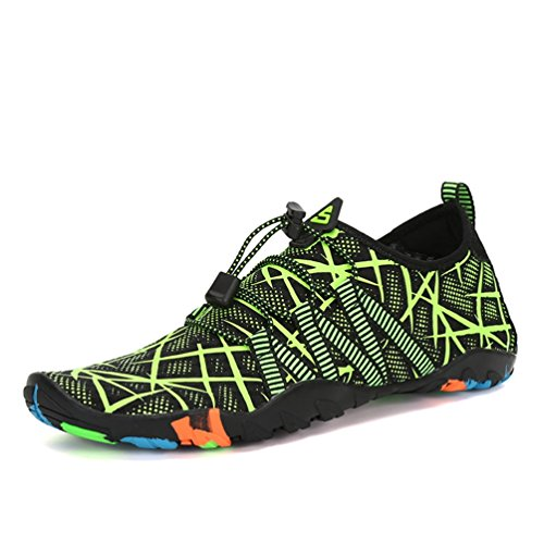 Qianliuk Herren Sneakers Sommerschuhe Atmungsaktive Strand Pantoffeln Upstream Schuhe Schwimm Tauchen Socken (Top Driving-schuhe)