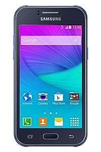 Samsung J100 Galaxy J1 Smartphone débloqué (Ecran: 4.3 pouces) Bleu (import Italie)