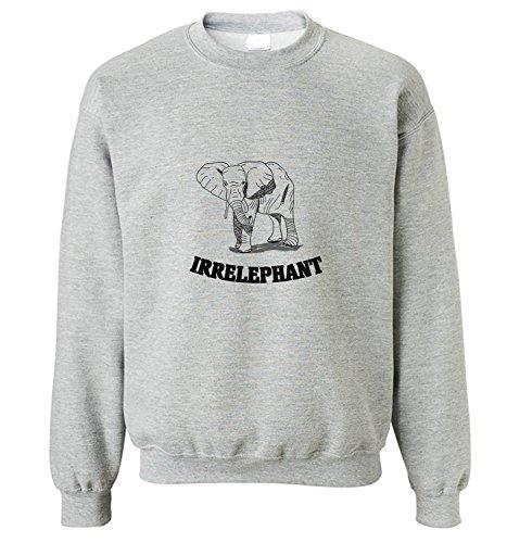 sweatshirt-da-uomo-con-elefante-disegnato-a-mano-stampa-x-large-grigio