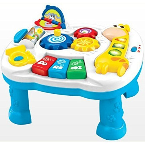Sunshine Learning and Fun Activity Table + Multi-skill Educational Toy + Music and Lights