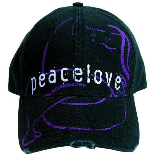 John Lennon - Cap Peacelove Distressed (in One Size)