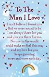 "Heartwarmers To The Man I Love Keepsake Card & Envelope 3.5"" x 2"" Code K137E"