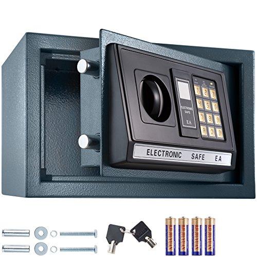 TecTake Elektronischer Safe mit Doppelbolzen Verschlusssystem