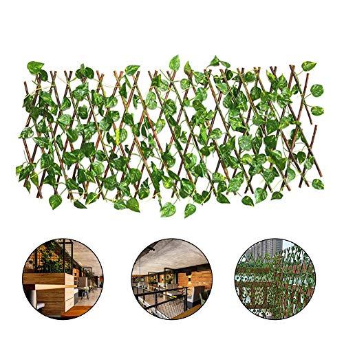 tzte Sichtschutz künstliche Gartenpflanze Zaun Hausgarten Zaun Hochzeit Festival Poison Ivy Kostüm Outdoor Decor Greenery Walls ()