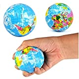 omeny sintética Mini Globe Stress Relief Bouncy Ball Toy