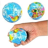 tfxwerws novedad Mini globo sintética Stress Relief Bouncy Ball Toy
