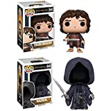 Funko POP! The Lord Of The Rings: Frodo Baggins + Nazgul - Vinyl Figure NEW
