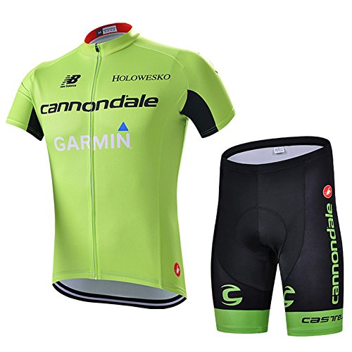 Strgao 2016 Herren Pro Rennen Team Garmin MTB Radbekleidung Radtrikot Kurzarm und Radhosen Anzug Cycling Jersey Shorts suit -