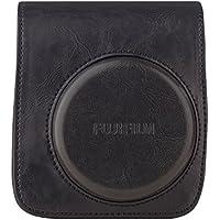 Instax Mini 90 Case (schwarz) 70100118173in schwarz aus hochwertigem PU-Leder + Tragegurt