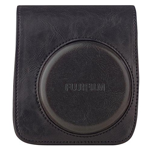 Film 90 Instax Neo (Instax Mini 90 Case (schwarz) 70100118173in schwarz aus hochwertigem PU-Leder + Tragegurt)