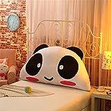 VERCART Wedge Pillow Bed Wedge Pillow Sofa Rückenlehne Kopfkissen, Keilkissen,Rückenkissen, Fernsehkissen, Ergokissen Weich Lesekissen Stützkissen Bettkissen Mischfarbe 120x60cm