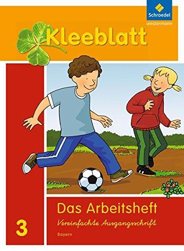 Kleeblatt. Das Sprachbuch - Ausgabe 2014 Bayern: Arbeitsheft 3 - Bild 1