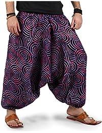 Amazon.it  Pantaloni Larghi Uomo - 4121328031  Abbigliamento dff70532415d