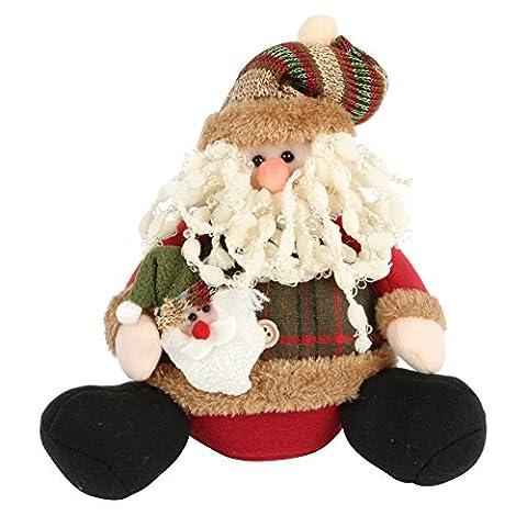 PanDaDa Frohe Weihnachten Sitzen Position Dekorationen Weihnachtsmann Schneemann Hirsch Geschenke Dekorationen