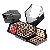 Pure Vie® Professionelle Hexagon 130 Farben Lidschatten Concealer Rouge und Lipgloss Palette Makeup Kit - Ideal für Sowohl den Professionellen als auch Persönlichen Gebrauch