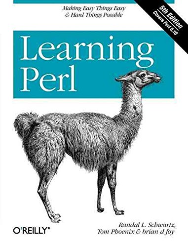 [(Learning Perl)] [By (author) Tom Phoenix ] published on (July, 2008)