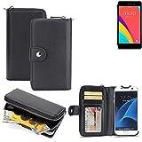 2in1: Für Oppo R5s Handyhülle & Portemonnee hochwertige