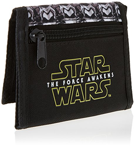 Star Wars Episode 7 Crush the Resistance Wallet Coin Pouch, 13 cm, Black