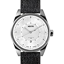 MEDOTA Grancey Men's Automatic Water Resistant Analog Quartz Watch - No. 2901 (Silver/Silver)