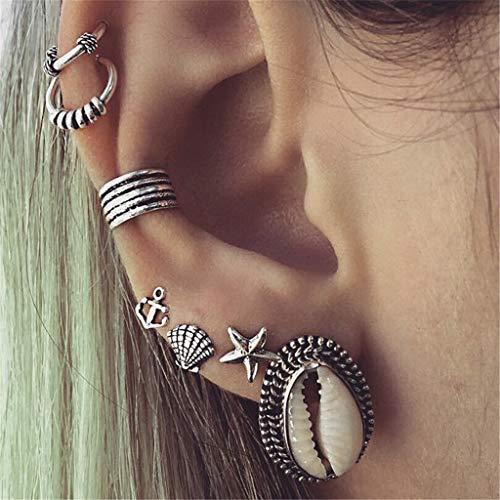 Gaddrt Ohrringe für Damen Böhmische Korean Fashion Shiny Strass Rote Kirsche Ohrstecker Schmuck -