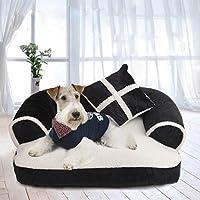 WWSSXX Lujo Cómodo Sofá para Mascotas Cálido Suave Y Grande Cama para Perros Casa De La