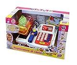 Grandi Giochi GG61201 - Registratore di Cassa con Microfono e Luci