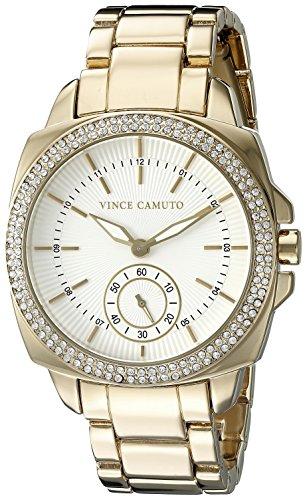 Vince Camuto Femme VC/5262wtgb Cristal Swarovski Accents Couleur or Bracelet de montre