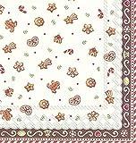 Ihr Weihnachten COOKIES Lebkuchen Villeroy & Boch Luncheon Papier-Servietten, 3-lagig