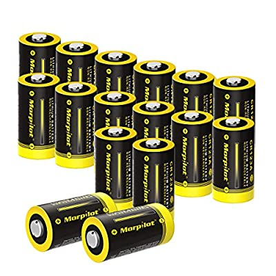 CR17345 1600mAh Lithium Disposable Batteries Low Self-Discharge