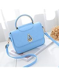 Malilove Bolso De Las Señoras Bolsa De Moda, Simple Bolsa De Hombro,Azul Cielo