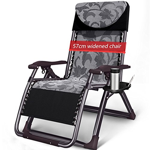 ZGL Relaxsessel & -Liegen Klapp Lounge Stuhl Widen Stuhl Mittagspause Couch Büro Klappstuhl...
